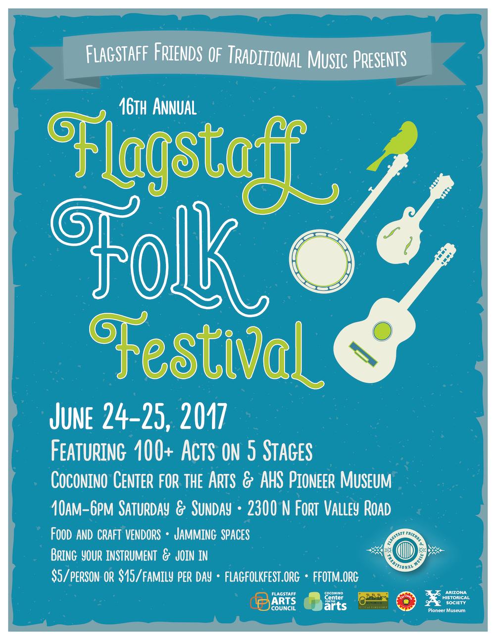 Flagstaff Folk Festival 2017