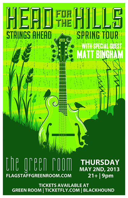 Head for the Hills w/ Matt Bingham @ Flagstaff Green Room