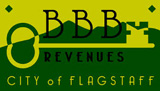 Thank you to the BBB Revenues from the City of Flagstaff for their support.