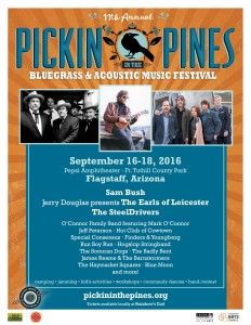 Pickin' in the Pines Bluegrass & Acoustic Music Festival @ Pepsi Amphitheater at Fort Tuthill County Park