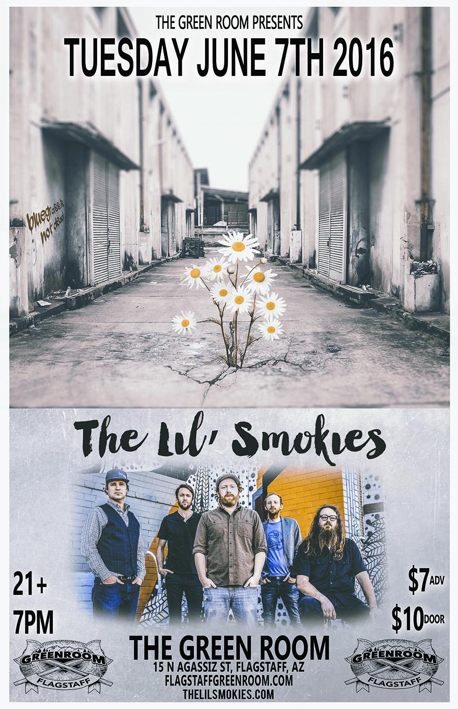 The Lil' Smokies @ Flagstaff Green Room | Flagstaff | Arizona | United States
