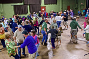 Community Barn Dance at Pickin' in the Pines with Hogslop Stringband @ Commercial Building at Ft. Tuthill County Fairgrounds