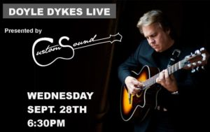 Doyle Dykes Fingerstyle Guitar Virtuoso Performance @ Flagstaff Federated Community Church | Flagstaff | Arizona | United States