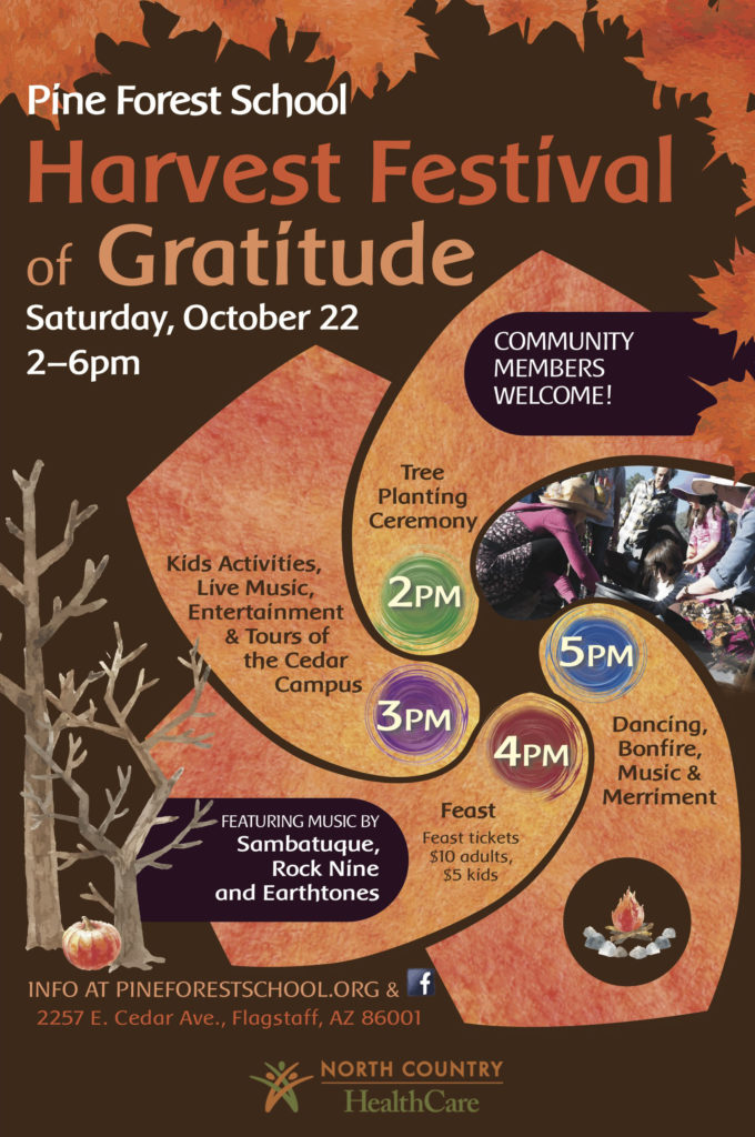 Harvest Festival of Gratitude at Pine Forest School @ Pine Forest Charter School | Flagstaff | Arizona | United States