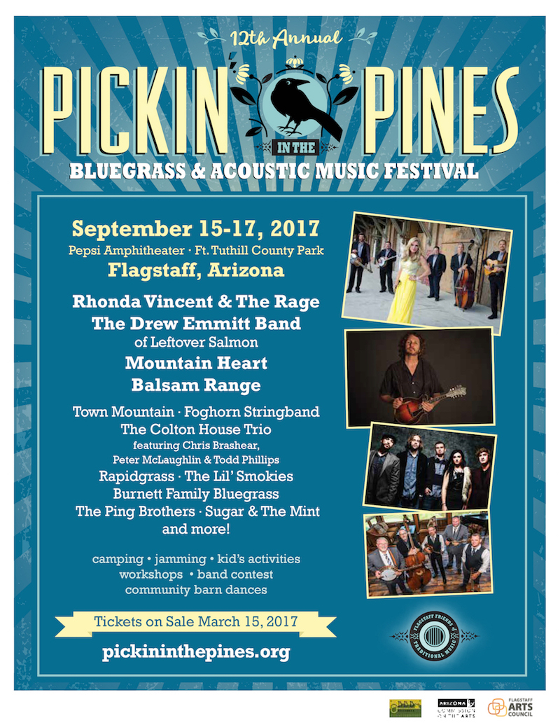 Pickin' In The Pines 2017 Lineup Announcement