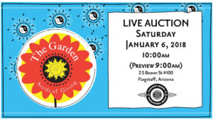 FFOTM Auction at The Garden @ The Garden Thrift Sore | Flagstaff | Arizona | United States