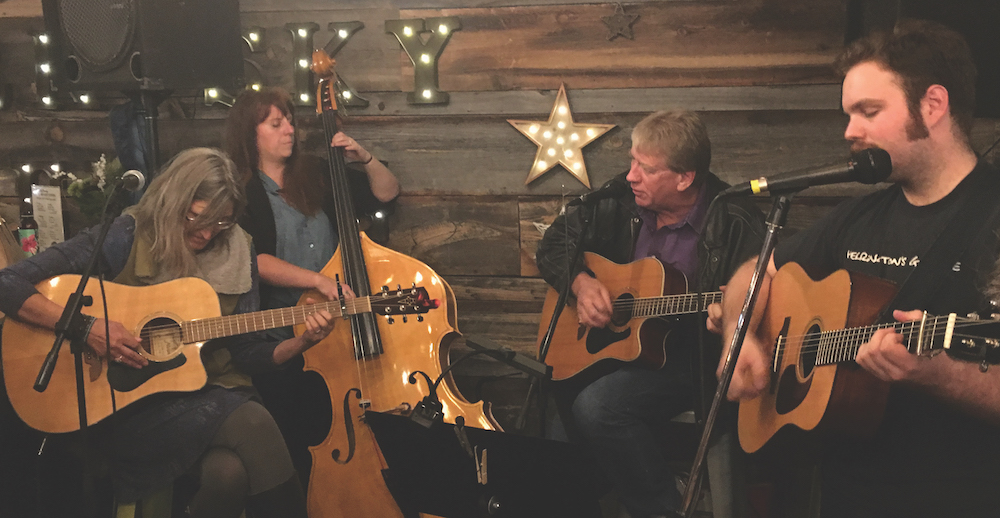 FFOTM Members Holiday Pickin' Party At Dark Sky Brewery