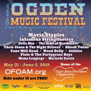 Ogden Music Festival 2019 @ Fort Buenaventura