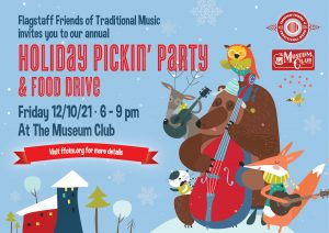 FFOTM Holiday Pickin' Party & Food Drive @ The Museum Club